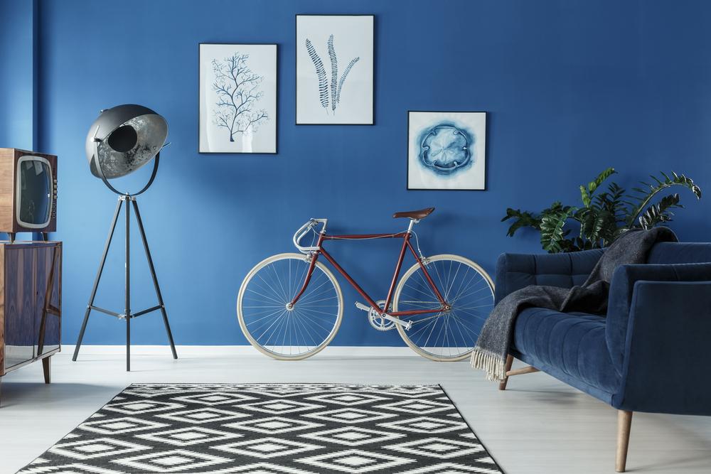 tapis decoratif avec des fibres naturelles